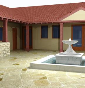 Idejni projekat Hostela Villa rustica