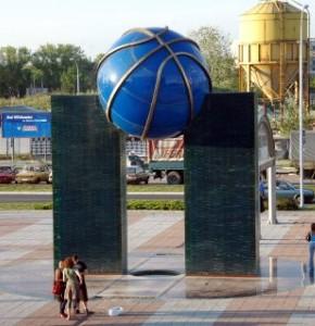 Statički proračun konstrukcije spomenika košarci isped Beogradske arene