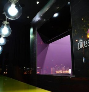 Projekat enterijera Fast food restorana Pile i Prase
